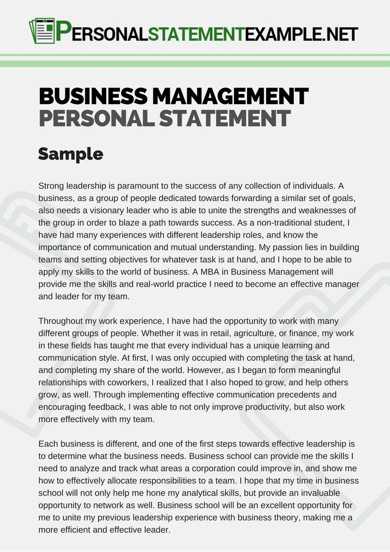 Personal Vision Statement Example Busines Beautiful Mission Forensic Psychology Master