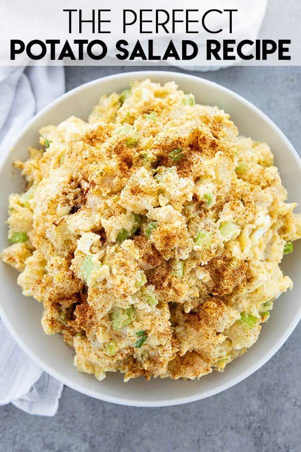 Perfect Potato Salad #potatosalad