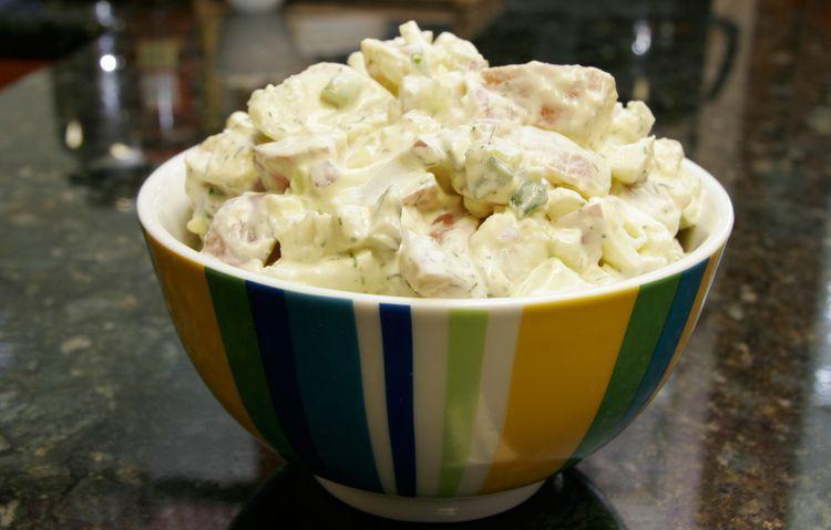 Potato Salad Recipe With Egg Sour Cream