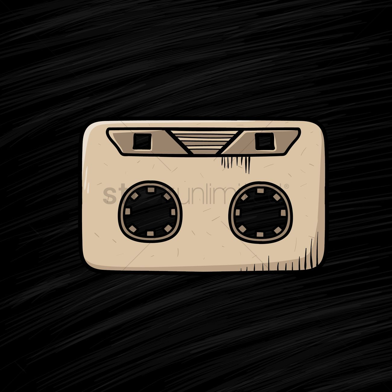Cassette tape stock vector , #sponsored, #tape, #Cassette, #vector, #stock #affiliate