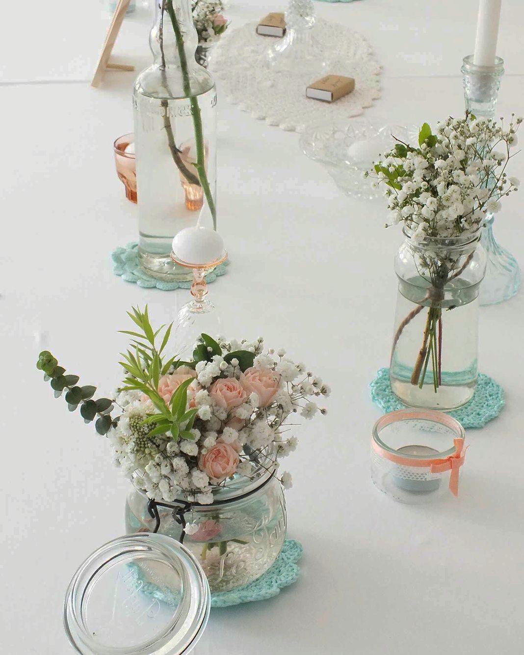 Mariage champ tre en bretagne notre d coration de table for Decoration table champetre