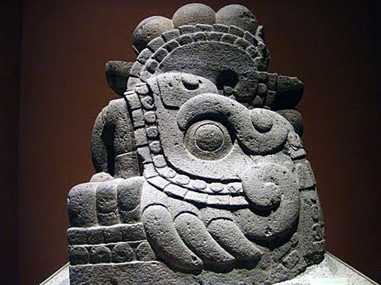 aztec statues | Aztec | Pinterest | Aztec statues