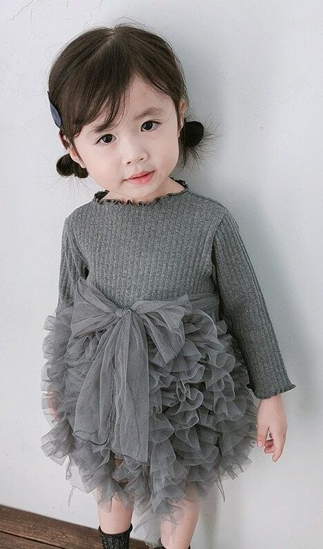 Autumn Toddler Knitted Dress - toddler fashion  #Fashion #Outfit #toddlerOutfit #Littlegirl