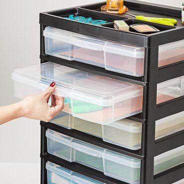 Scrapbook Paper Storage Craft Room Organizers And Storage Ideas