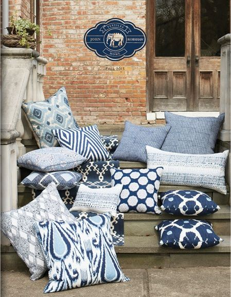 explore grey pillows accent pillows and more blue and white from john robshaw