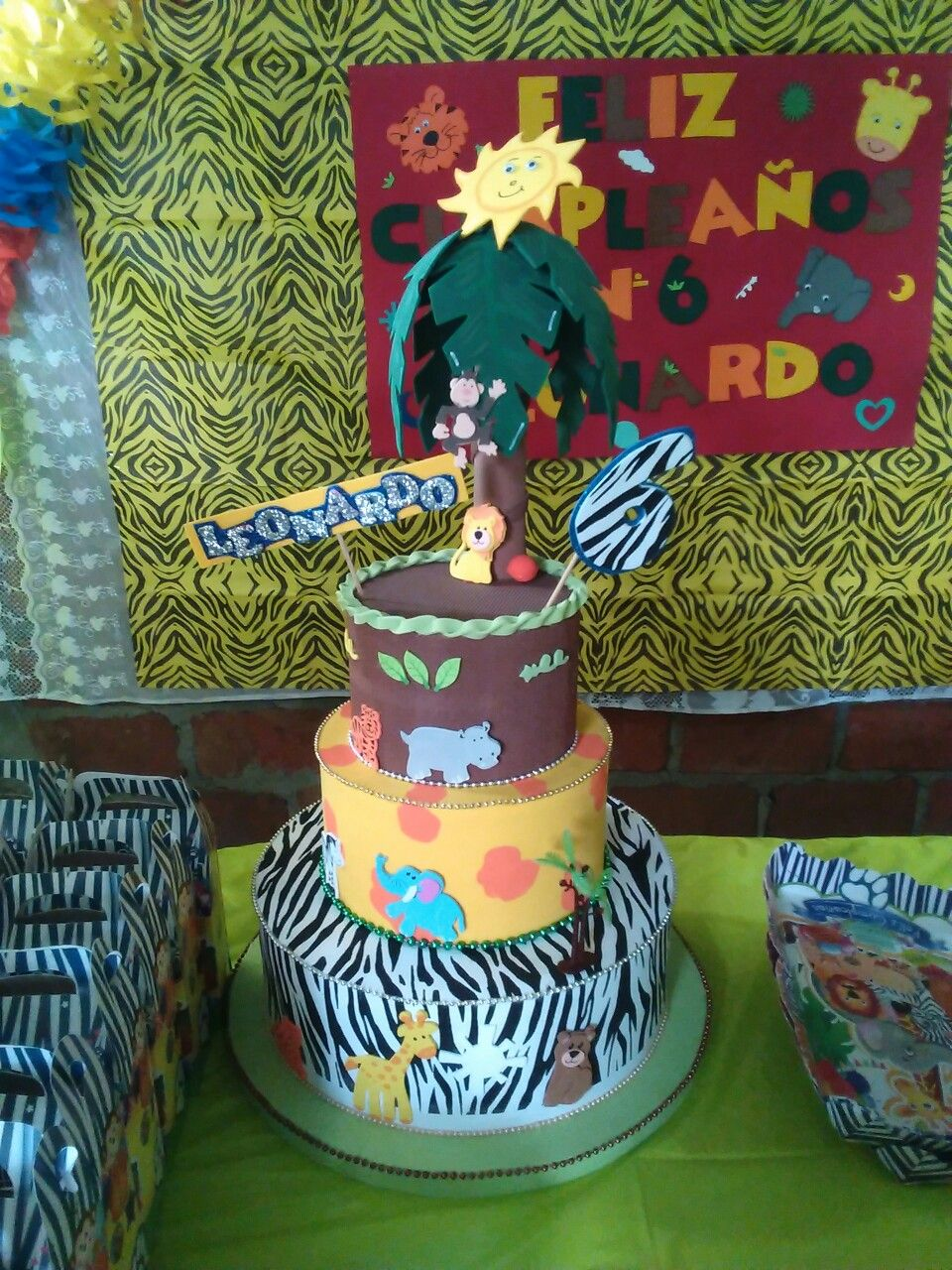 Torta Fantasía Safari