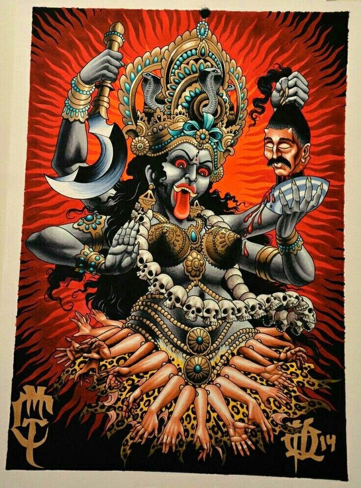 Pin De Buen Estilo En Ideas Diosa Kali Deidades Hindues Y Hinduismo