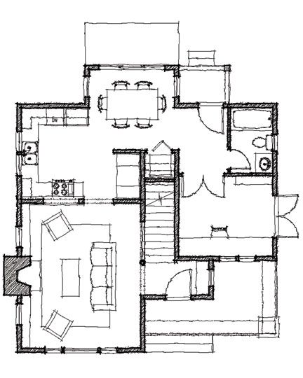 Small Backyard Guest House Plans: Backyard Guest Houses, Backyard House, Cabin Plans