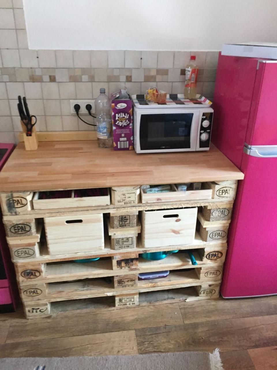 Küche aus Paletten » Küchenzeilen, Anbauküchen aus Plankstadt ... | {Anbauküchen 4}