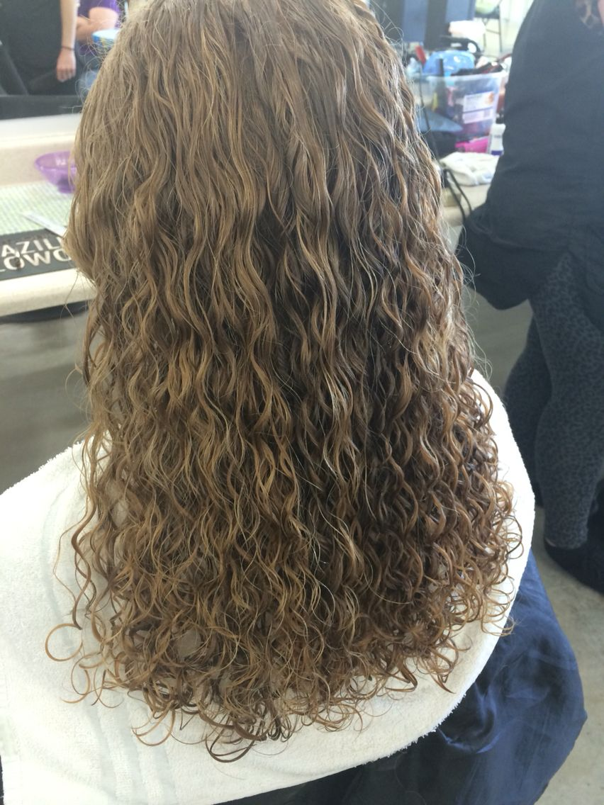 Grey White Spiral Permed Hairstyles Hair Styles Curly Permed Hair