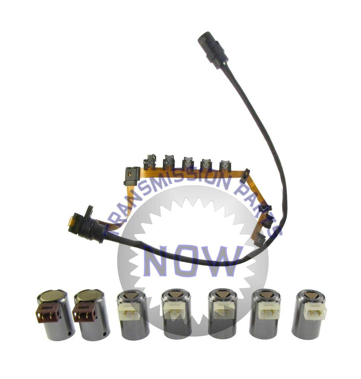 8b86a416cfa5bf8a77be8448153eca7c oe type wiring harness and 7 piece solenoid set transmission  at soozxer.org