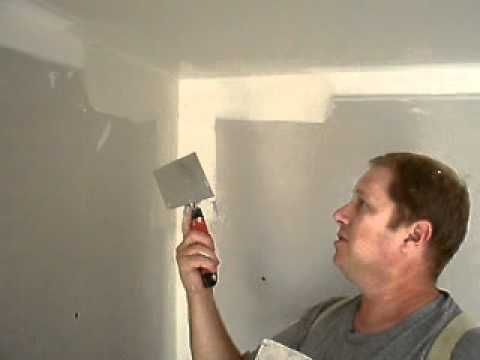 Finishing Inside Corners With A Double Sided Corner Knife Beachfront Cottage Home Repairs Home Improvement
