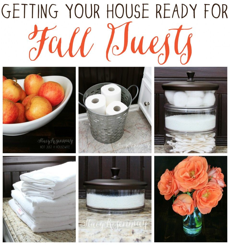 Getting your home guest ready best of pinterest for Getting ready for fall