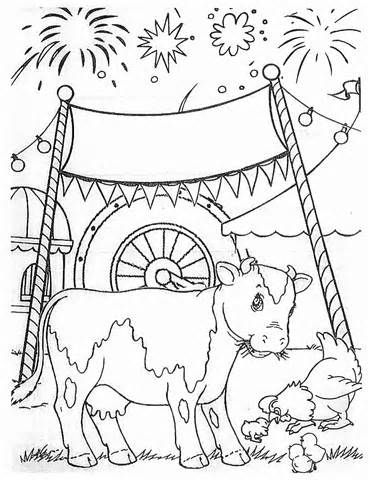 State Fair Coloring Pages sketch template (With images