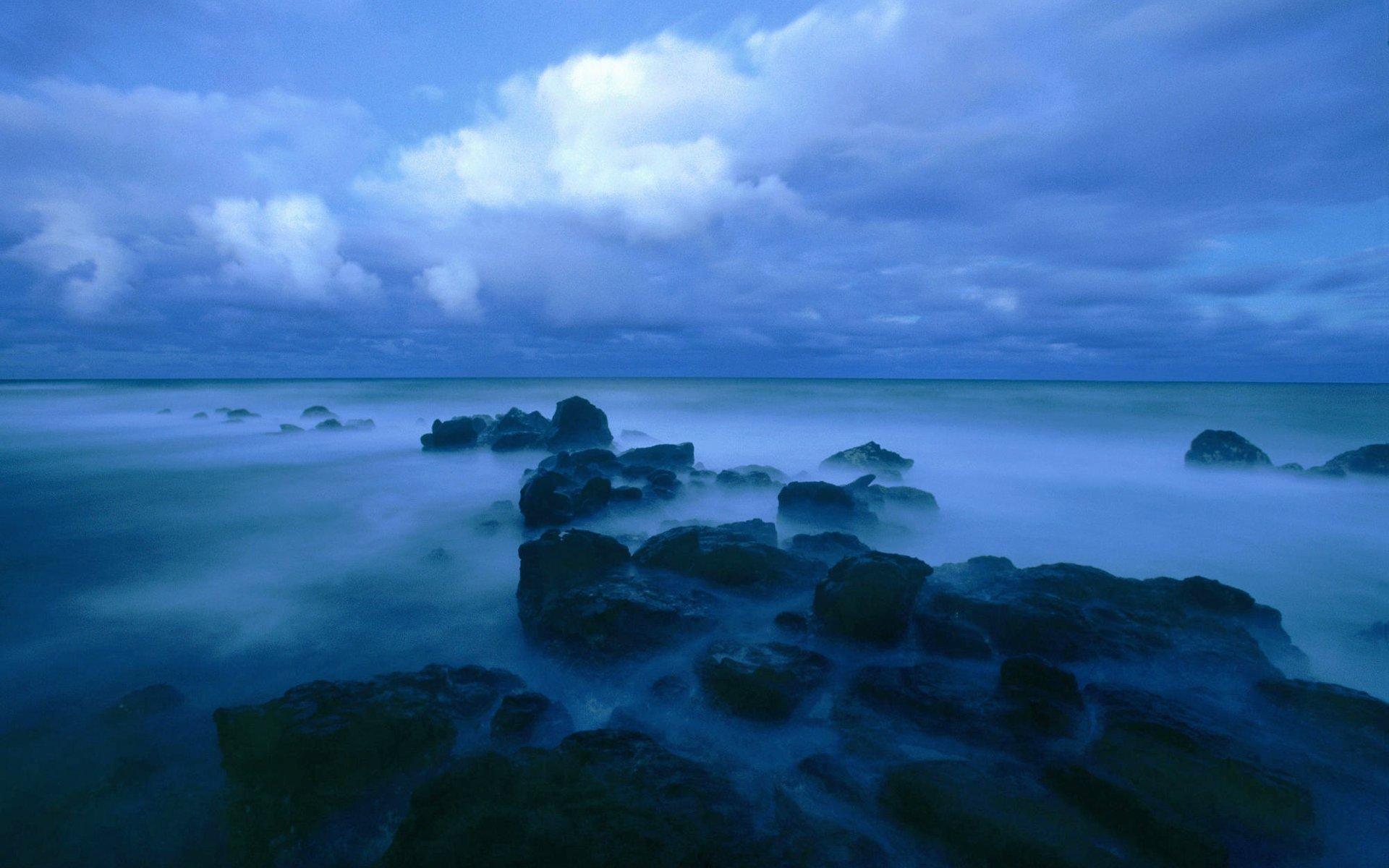 Wallpaper Of Blue Nature