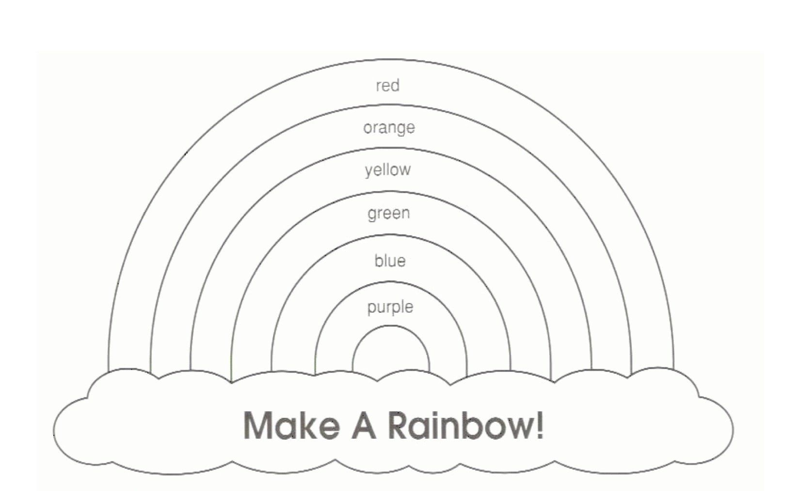 rainbow template quiet books for kids pinterest rainbow