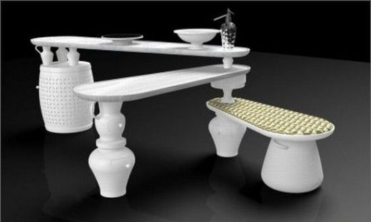 Free Standing Kitchen by Alfonso Rico Nieto | Design A Kitchen, so cool,