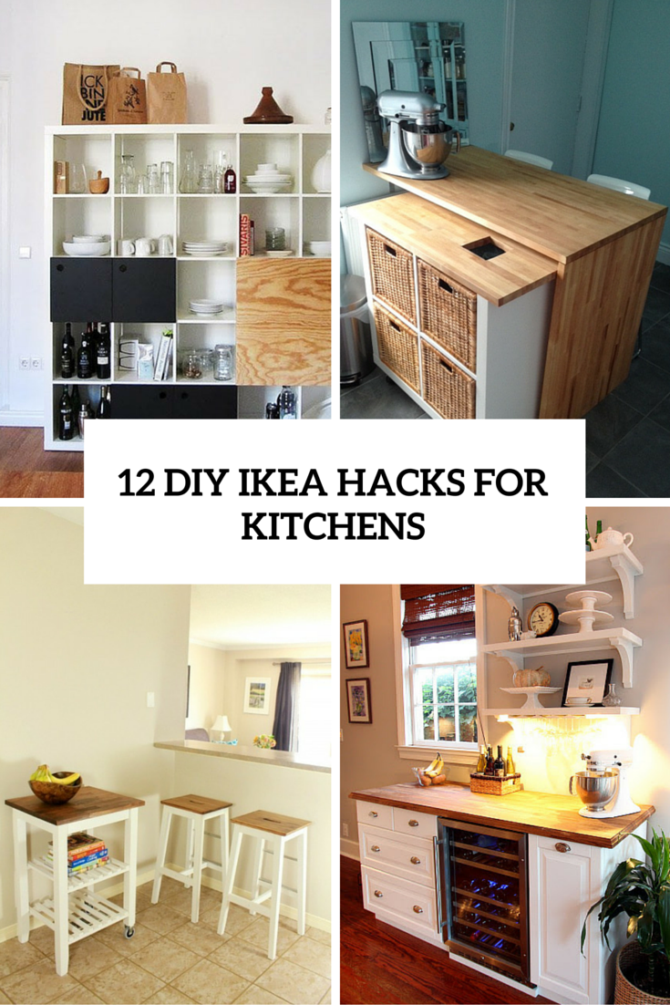 12 Functional And Smart DIY IKEA Hacks For Kitchens ...