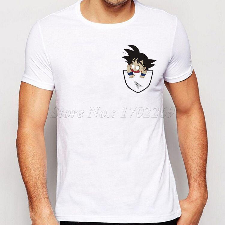 2016 Nueva Moda de Son Goku En Mi Bolsillo Diseño camiseta de Los Hombres  camisa Creativa Simple Personalidad Informal Masculina Tapas Básicas de  Manga ... 122d01e6c9f69
