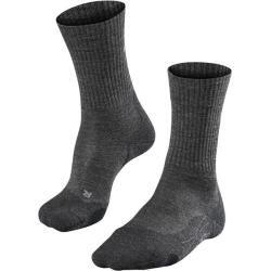 Falke Herren Trekking-Socken Tk 2 Wool Men, Größe 42-43 in Smog, Größe 42-43 in Smog Falke