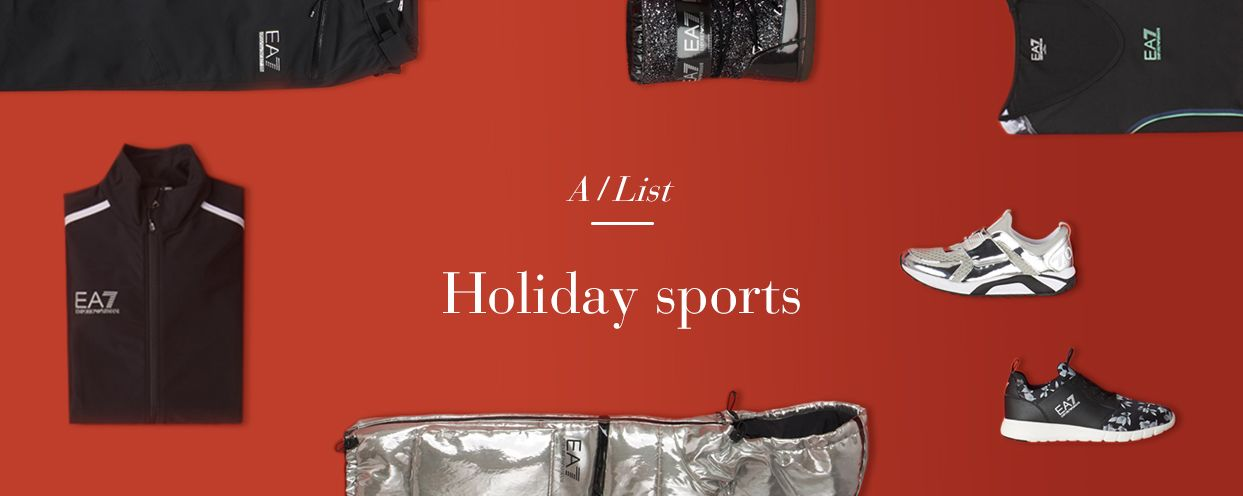 HOLIDAY SPORTS: Get a jump start on your gift shopping with our stylish activewear offering.‬ #ArmaniAlist  Discover more at http://www.armani.com/special/gift-guide-a-list