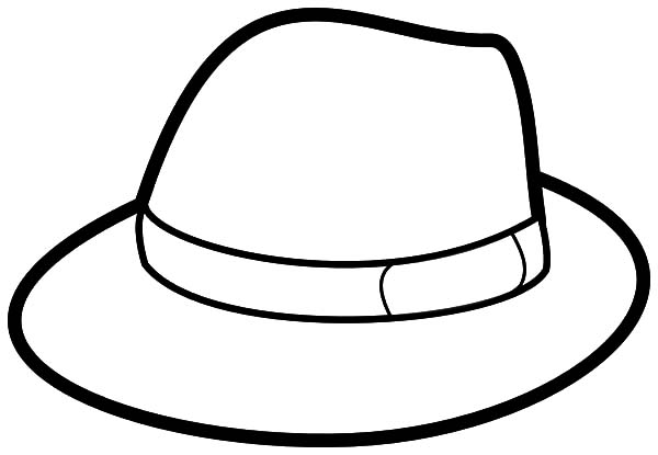 Gentleman Hat Coloring Pages Coloring Sun Coloring Pages Gentleman Hat Color