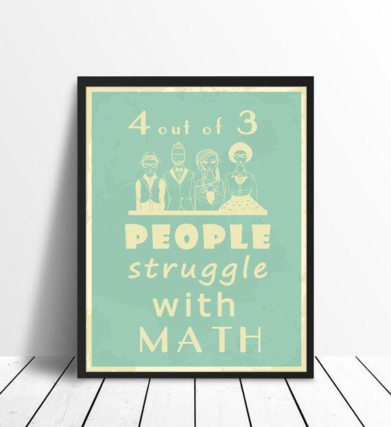 Maths Poster - Statistics Joke, Printable | Math poster, Statistics ...