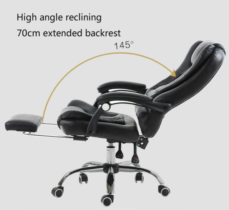 Office Boss Chairs Lazy Massage Swivel Chair Reclining Lifted Rotation Chair With Footrest Computer Chair Comfortab Boss Chair Comfortable Chair Computer Chair