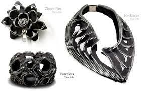 Image result for zipper jewelry