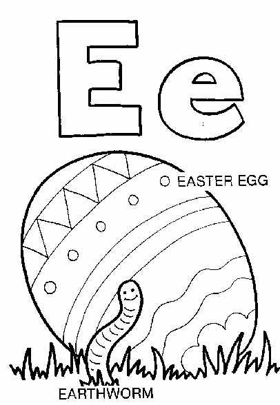 short and long sounds of letter E coloring page | Vowel Sounds ...