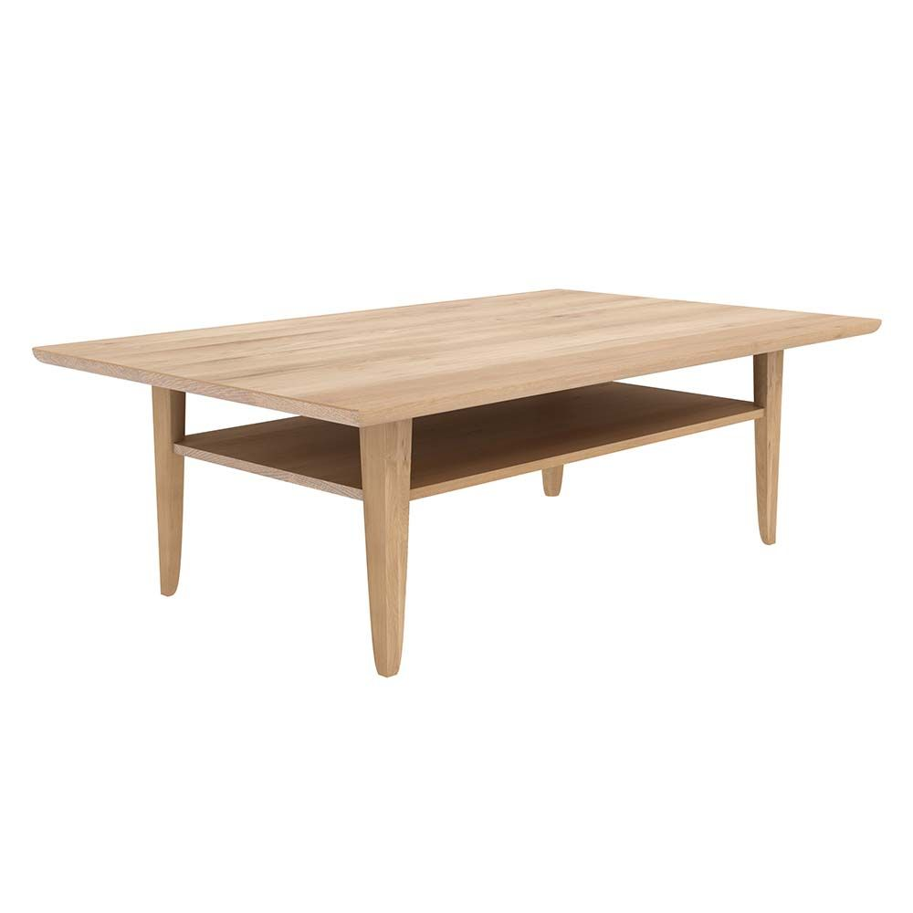 For More Than Twenty Years Ethnicraft Has Been Creating Authentic Contemporary And Timeless Furnitu Simple Coffee Table Coffee Table Modern Wood Coffee Table [ 1000 x 1000 Pixel ]