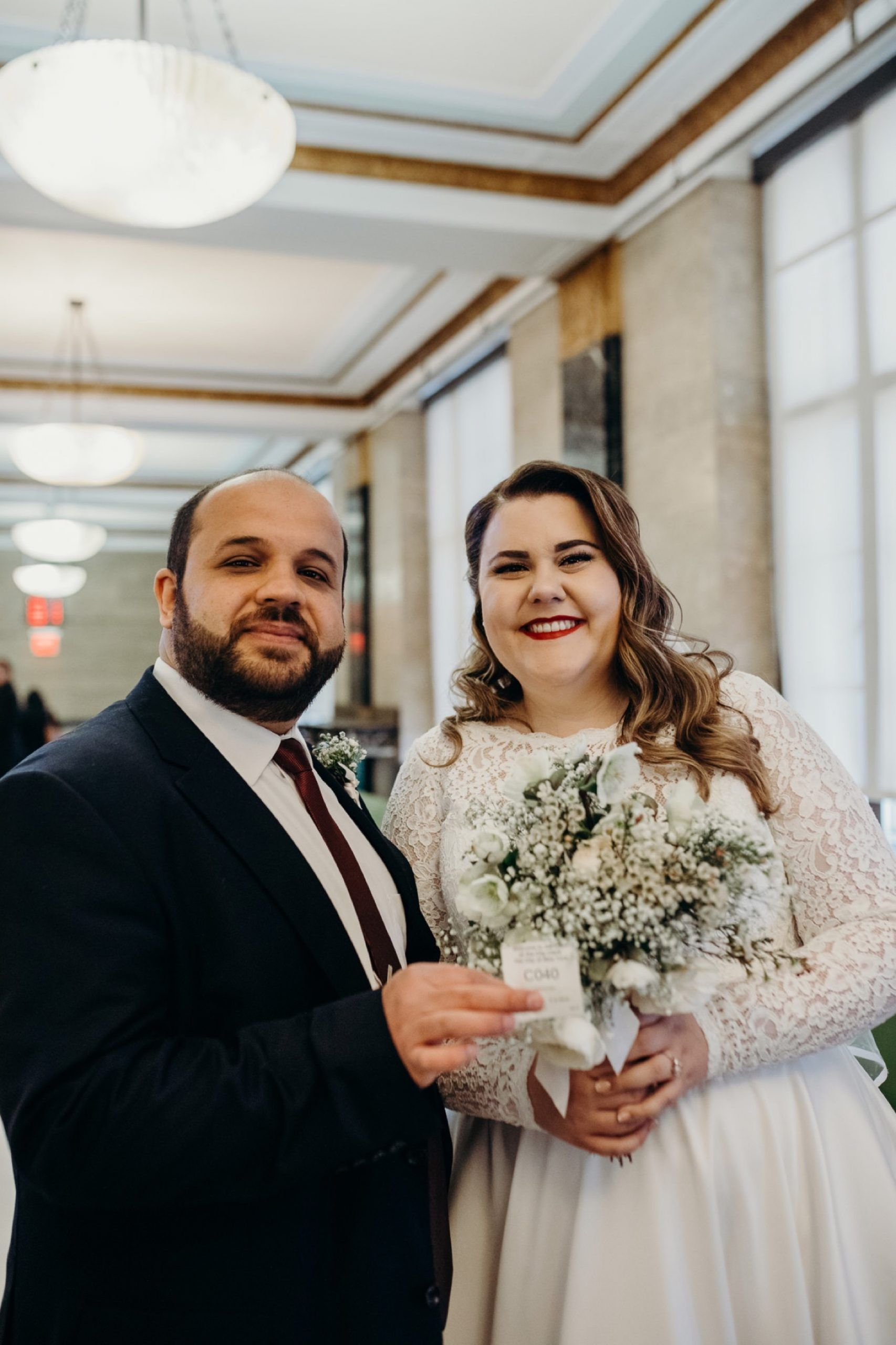 ehsan + maggie / manhattan, new york city hall wedding