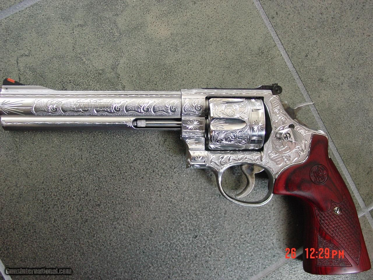 Smith & Wesson Engraved Model 629-6 .44 magnum 6 1/2\