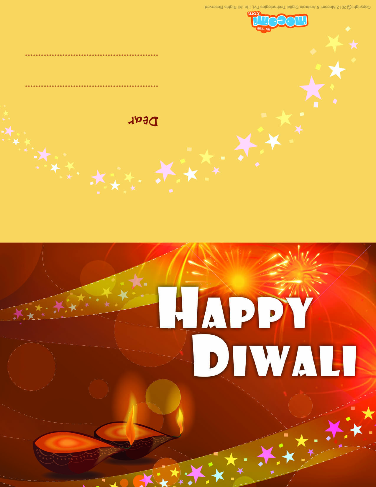 Diwali diyas diwali greeting card for kids diwali diwalidiyas download this free diwaligreetingcard to send your near and dear ones this diwali download here diwali diya wallpaper for kids m4hsunfo