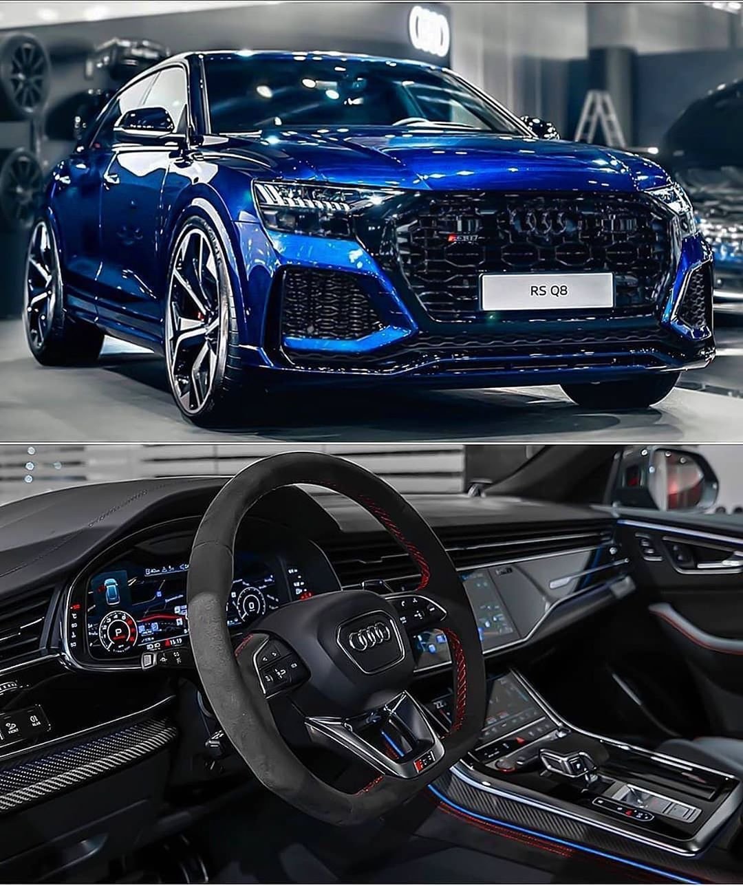 "Rs For Luxury Cars: RS On Instagram: ""AUDI RSQ8 😱😍 Rate It From 1"