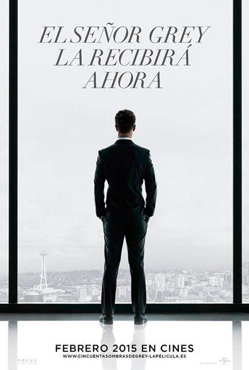 Cincuenta Sombras De Grey Teaser Poster En Espanol Con Jamie Dornan Como Christian Sombras De Grey Pelicula Cincuenta Sombras 50 Sombras De Grey