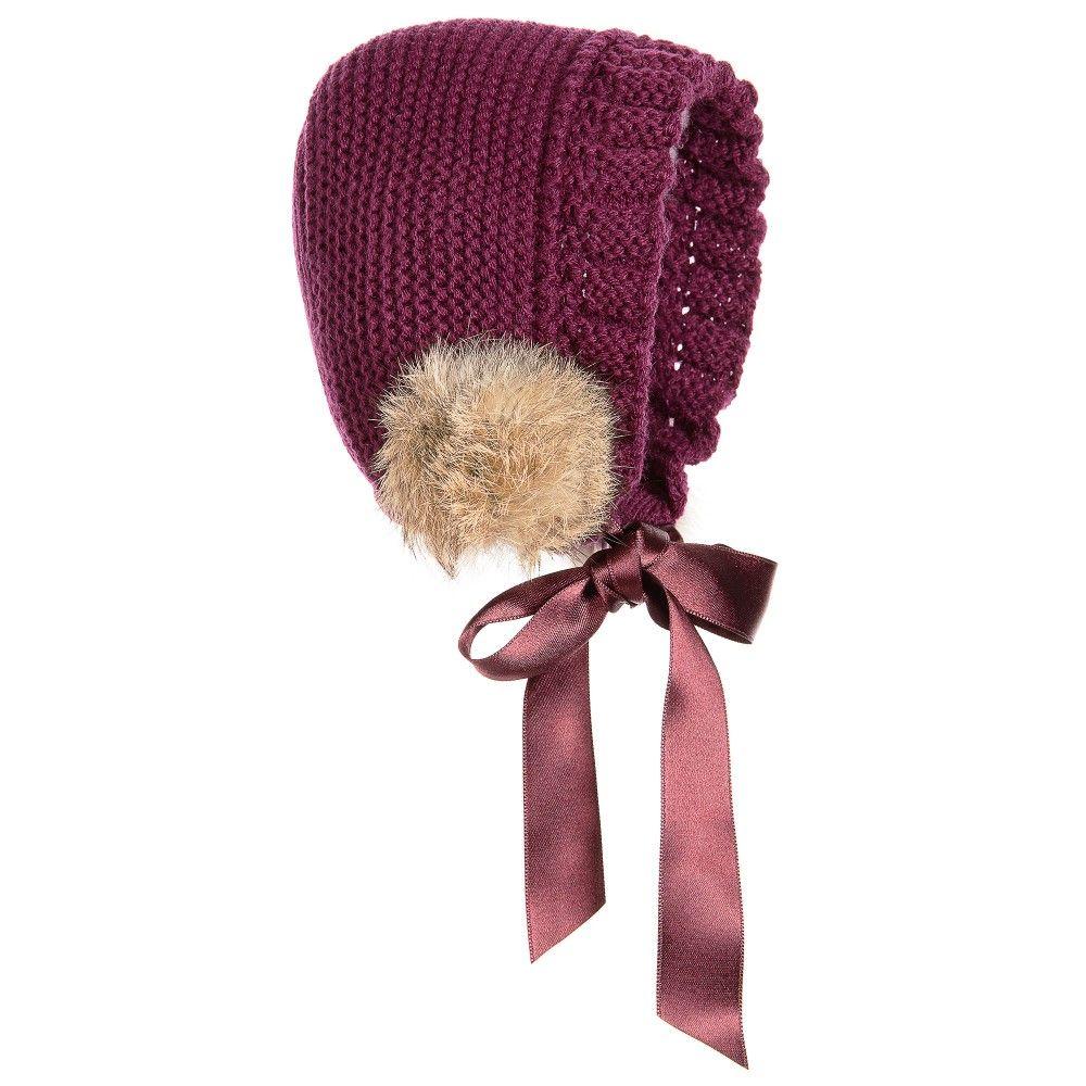 fecb3394856d Girls Pram Coat   Bonnet Set