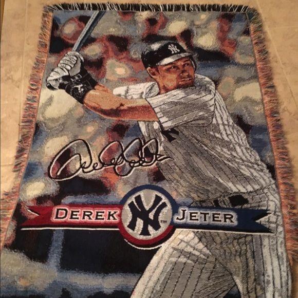 YankeeDerek Jeter Throwblanket Derek Jeter Conditioner And Delectable Yankees Throw Blanket