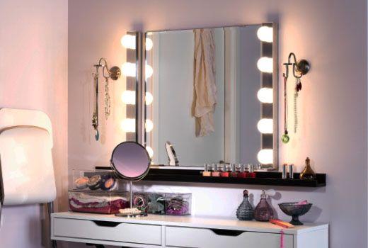 luminaires salle de bain ikea coiffeuse luminaire salle de bain salle de bain ikea et deco. Black Bedroom Furniture Sets. Home Design Ideas