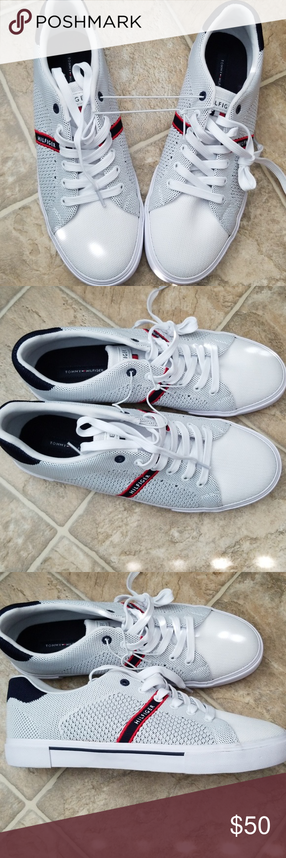 259b82822965c7 (BRAND NEW) TOMMY HILFIGER TENNIS SHOES New