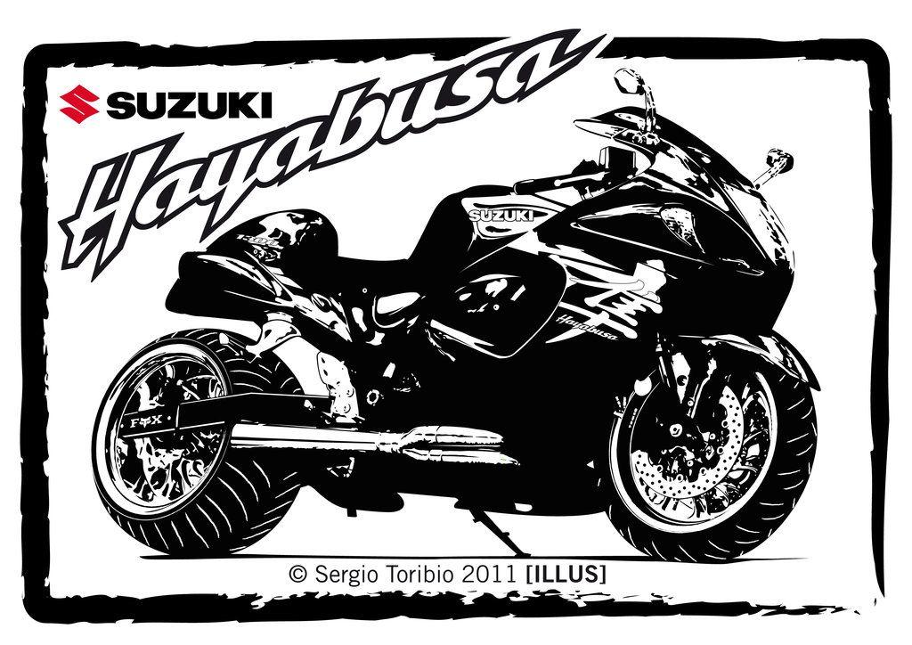 Suzuki Hayabusa Drawings Suzuki Hayabusa Hayabusa Suzuki