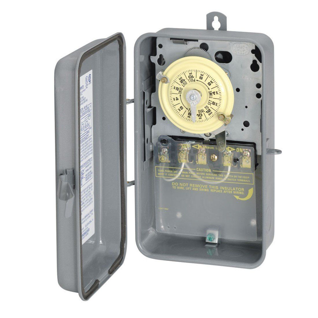 Intermatic T104r 208277volt Dpst 24 Hour Mechanical Time Switch With Outdoor Case Details Can Be Found By Clicking Lights Timer Lighting Timers Steel Paint