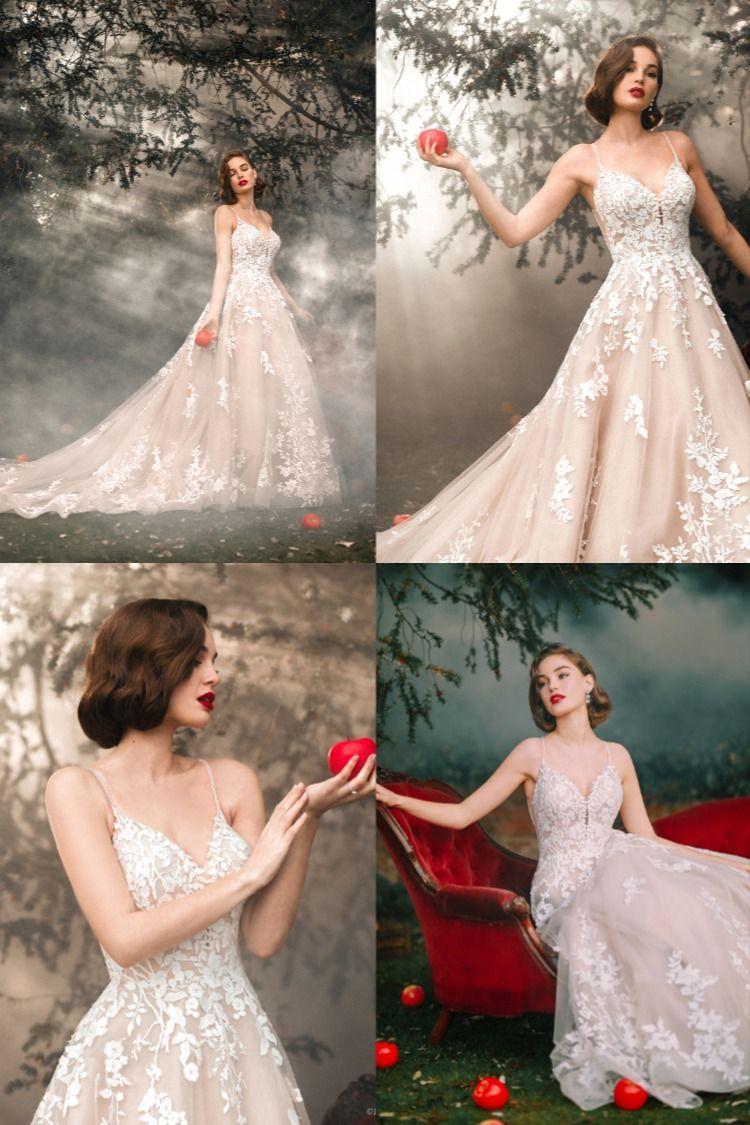 Disney Princess Wedding Dress In 2021 Disney Princess Wedding Dresses Wedding Dress Train Allure Bridal Wedding Dress [ 1125 x 750 Pixel ]