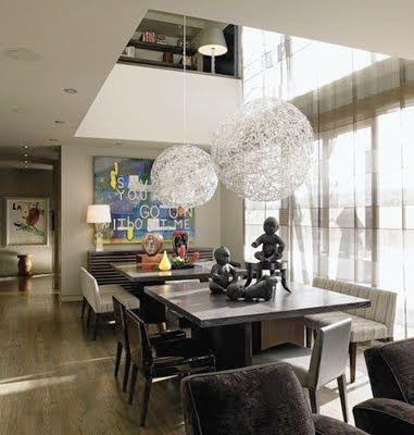 lampara comedor techo alto - Buscar con Google | Decoración ...