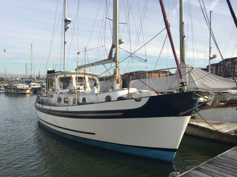 1969 Banjer 37 Motor Sailer Sail Boat For Sale - www yachtworld com