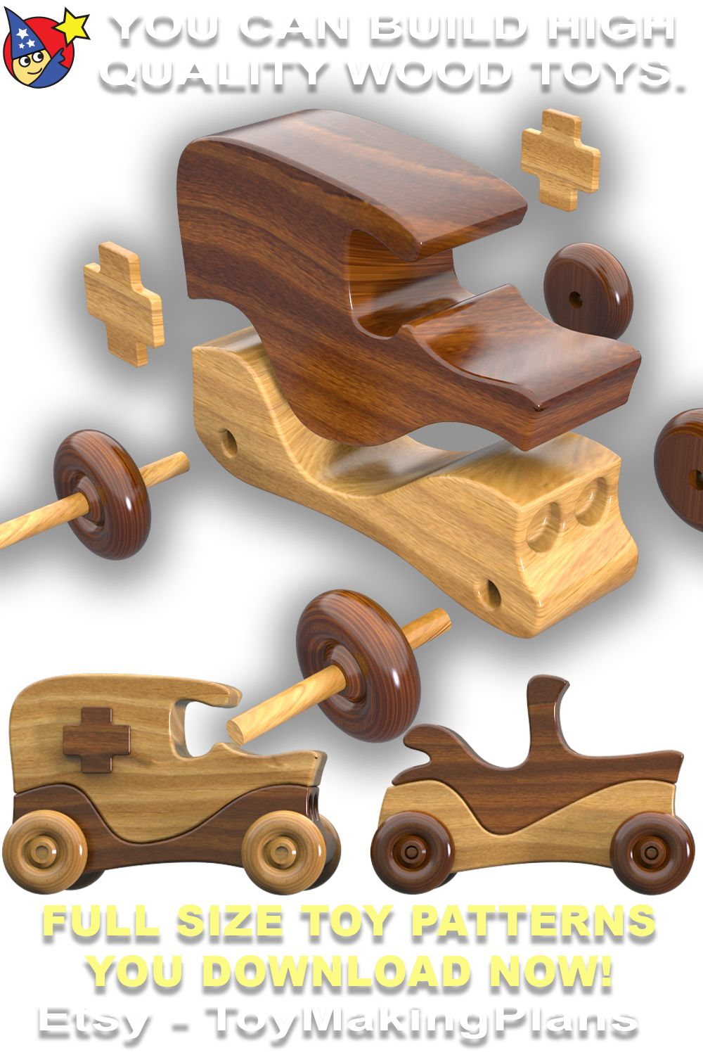 Martin Motors Crafts Show Classics Pdf Download Etsy In 2020 Wood Toys Diy Wood Toys Plans Wood Toys
