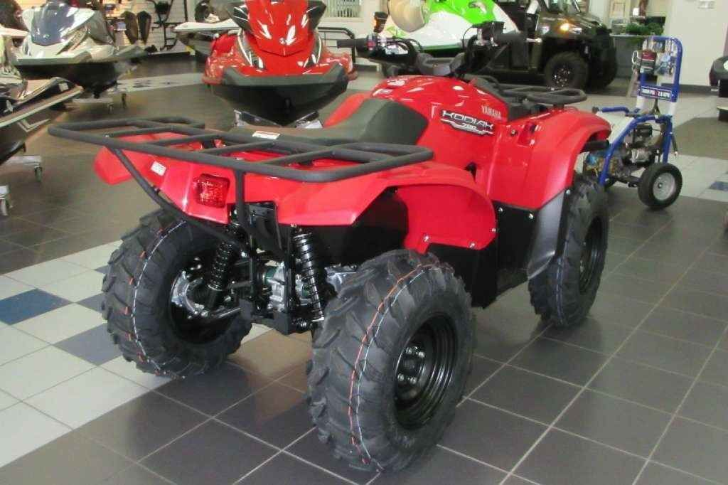 "New 2016 Yamaha Kodiakâ""¢ 700 ATVs For Sale in South Carolina. THE UNMATCHED BEAR ESSENTIALS! The Kodiak 700 sets the standard with comfort and reliability to tackle tough jobs and shoulder its share of the load during those long days spent in the field or on the trail. Â"