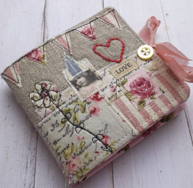 Book Cover Sewing Kit : Handmade fabric book craft and recraft bookmaking