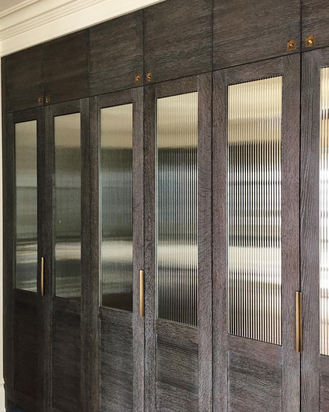 Reeded Gl Door Panels Architecture