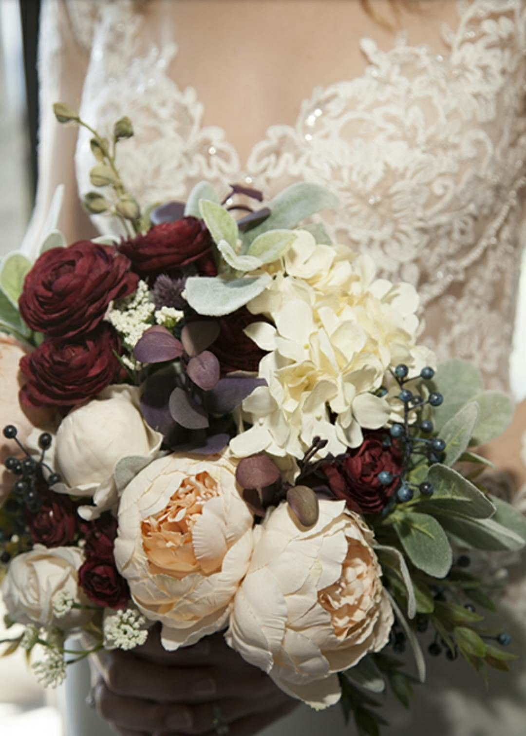 Rustic Chic Blush Pink Bridal Bouquet Perfect Fit For This Elegant